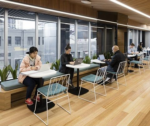 The University of Melbourne: Student Lounges